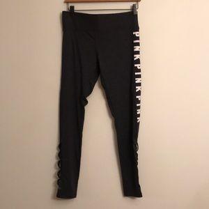New in bag Pink fleece lined cozy leggings medium